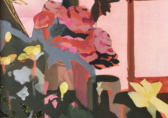 Bloemstilleven roze