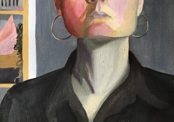 Zelportret met Zorn palet